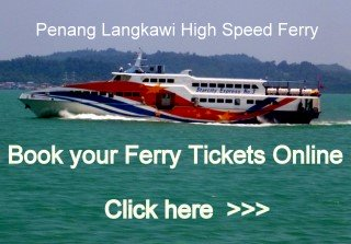 Penang Langkawi Ferry Tickets