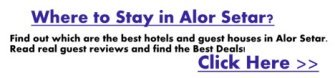 Best places to stay in Alor Setar