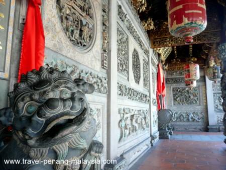 photo of the Khoo Kongsi Temple Georgetown Penang