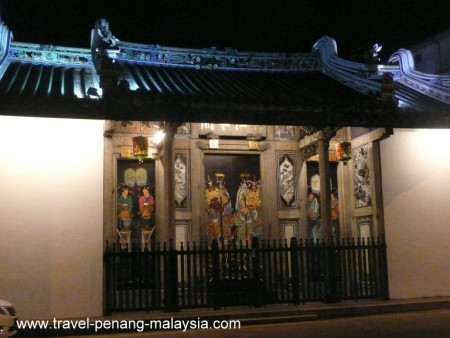 photo of the Teochew Temple in Georgetown