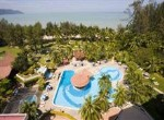 Swimming Pool at the Bayview Beach Resort Penang