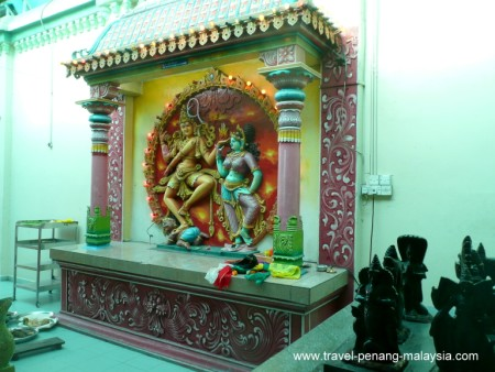 Photo from inside the Sri Mariamman Temple