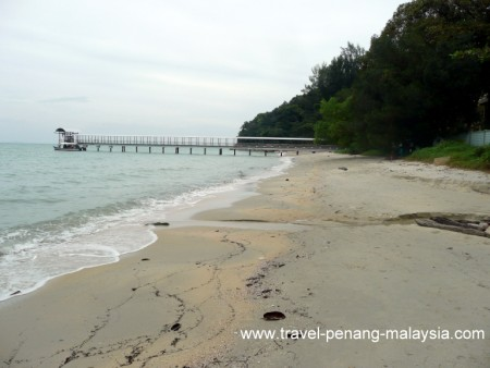 Teluk Aling beach Penang National Park