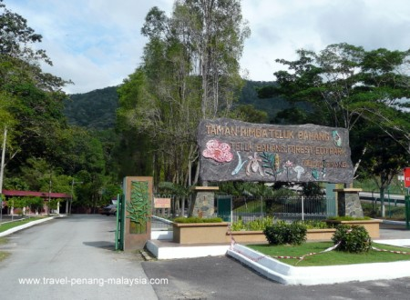 Entrance to Teluk Bahang Forest Park