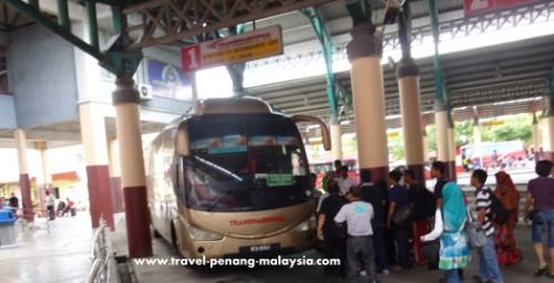 Alor Setar to Penang Bus
