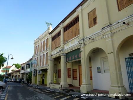 Armenian Street Penang George Town Lebuh Armenian