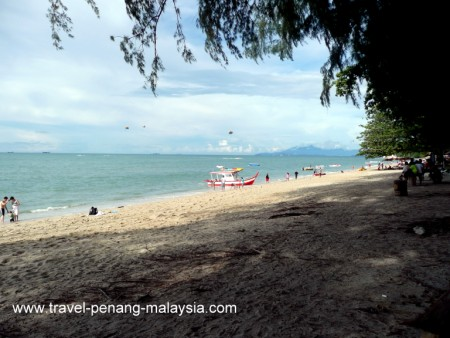Photo of Batu Ferringhi Beach in Penang Malaysia