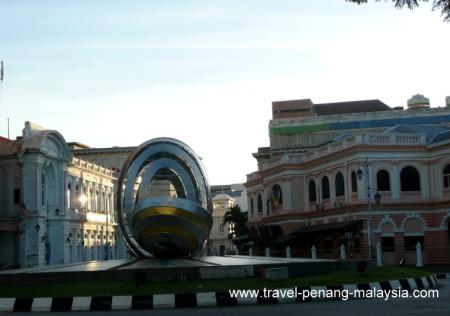 photo of the start of Beach Street Penang