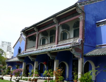 Photo of the Cheong Fatt Tze Mansion in Georgetown Penang
