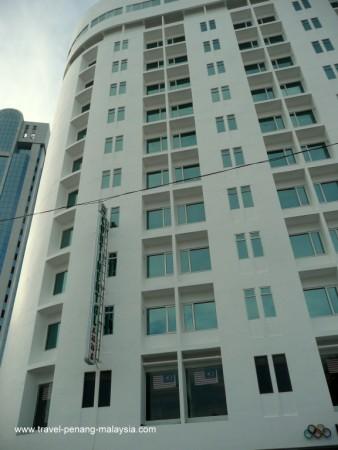 Photo of the Continental Hotel Penang Malaysia