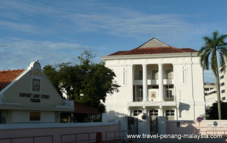 photo of the Convent Light Street Penang