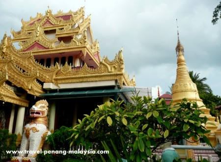 photo of Dhammikarama Temple - Burmese Temple in Georgetown Penang Malaysia