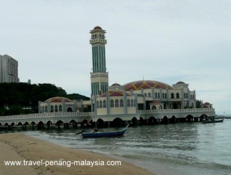 Floating Mosque Tanjung Bungah Penang