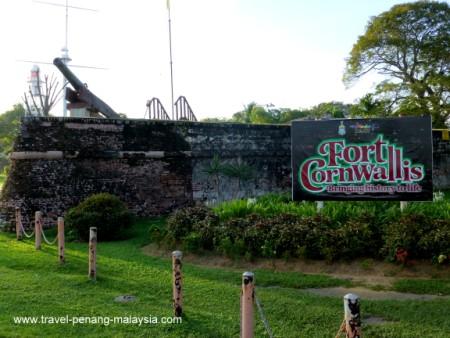 Fort Cornwallis Penang Esplanade