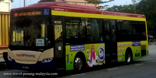 The Free Cat Bus in Penang