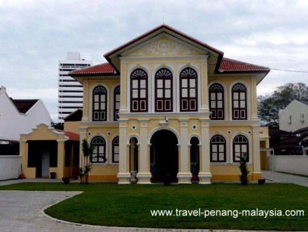 photo of a restored house in Georgetown Penang