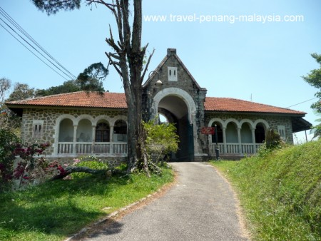 photo of the Governors Bungalow on Penang Hill