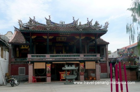 photo the Hock Teik Cheng Sin Temple in Georgetown Penang
