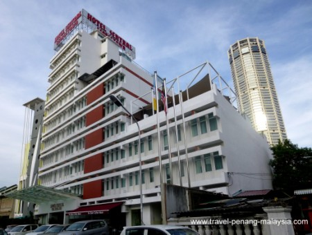 photo of the Hotel Sentral Penang Georgetown
