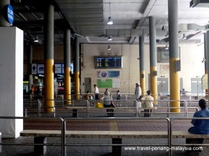 Inside KOMTAR bus station