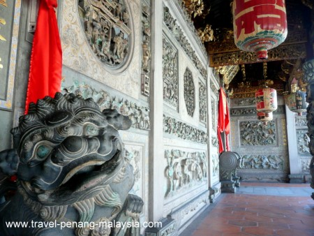 photo of the Khoo Kongsi Temple Georgetown Penang