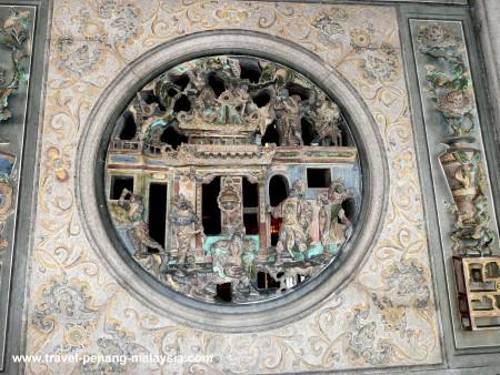 Khoo Kongsi carved panels
