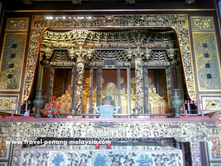 Picture from inside Khoo Kongsi Temple