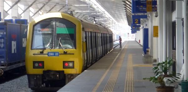 A KTM Komuter Train