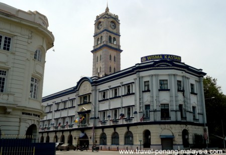 photo of the Malayan Railway Building Georgetown Penang