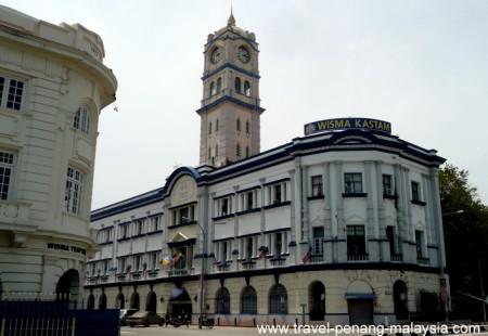 photo of the Malayan Railway Building Georgetown Penang