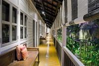 Upstairs Verandah at the Muntri Mews Hotel Georgetown Penang