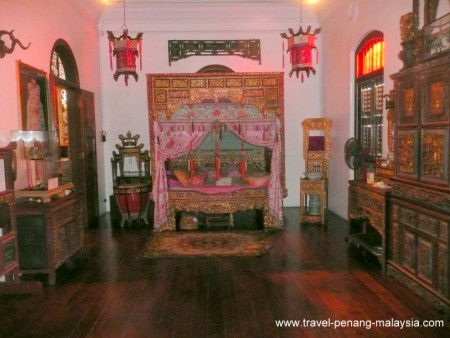photo of a Bedroom at the Peranakan Mansion