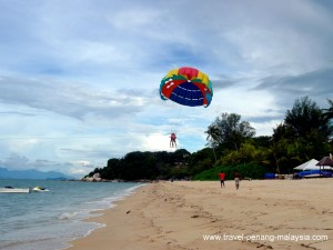 Parasailing At Batu Ferringhi