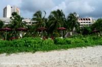 photo of the Parkroyal Hotel Batu Ferringhi beach Penang Malaysia from the beach