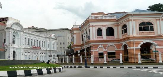 Beach Street in George Town Penang