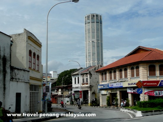 Picture of Georgetown with KOMTAR in the background