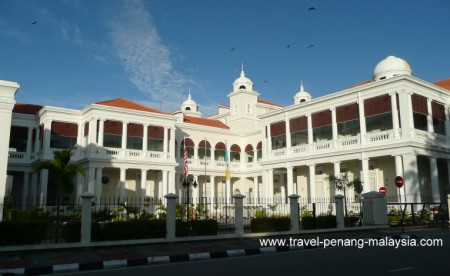 photo of the Penang Court House Georgetown