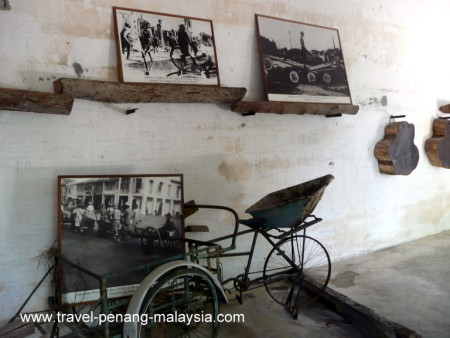 photo of an old tricycle