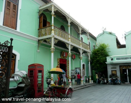 Pinang Peranakan Mansion in Georgetown