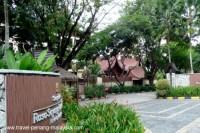 photo of the front of the Shangri-La Rasa Sayang Hotel in Batu Ferringhi beach Penang Malaysia