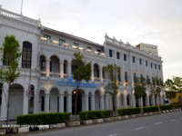 Photo of the front of the Royale Bintang Hotel Penang