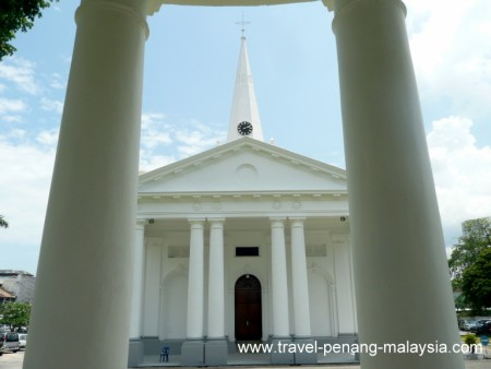 photo of the Saint George's Church in Penang