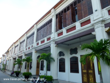 Photo of the Seven Terraces Hotel Penang Stewart Lane Georgetown