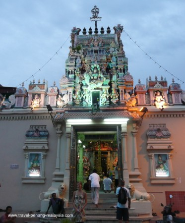 Photo of Indian Temple in Georgetown Penang Malaysia