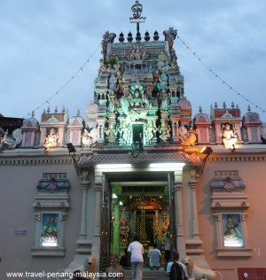 Sri Mariamman Temple in Little India Penang