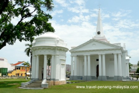 St George's Church in Georgetown Penang Malaysia