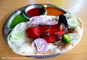Tandoori Chicken Plain Naan Set