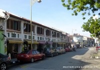 Photo of the front of the The Boutique Residence in Georgetown Penang