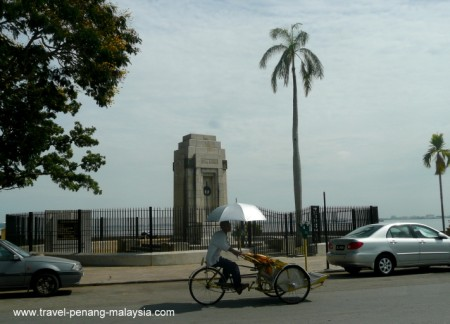 The Cenotaph on Penang Esplanade