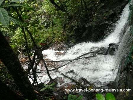 Waterfall Penang National Park
